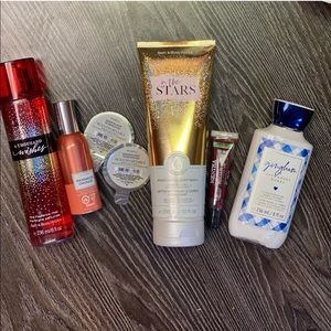 Brand New Bath and Body Works Items